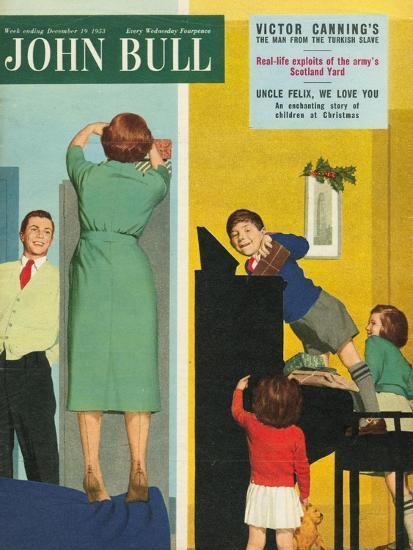 Front Cover of 'John Bull', December 1953--Giclee Print