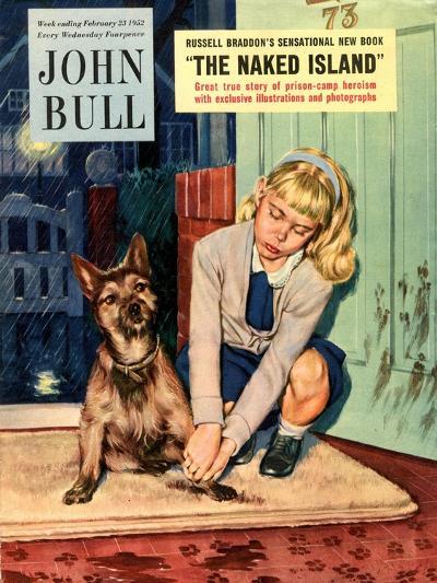 Front Cover of 'John Bull', February 1952--Giclee Print