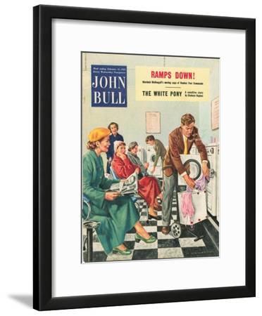 Front Cover of 'John Bull', February 1954