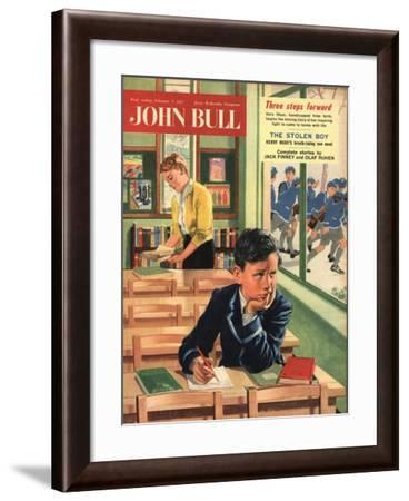Front Cover of 'John Bull', February 1957--Framed Giclee Print