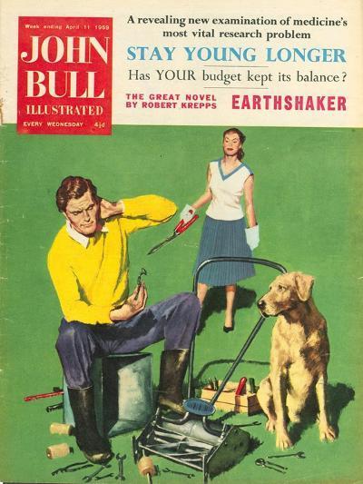 Front Cover of 'John Bull', February 1959--Giclee Print