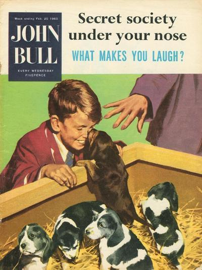 Front Cover of 'John Bull', February 1960--Giclee Print