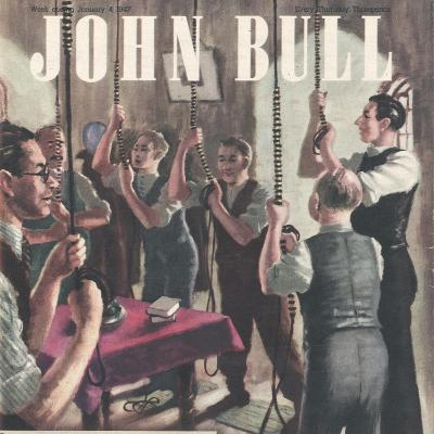 Front Cover of 'John Bull', January 1947--Giclee Print