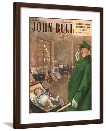 Front Cover of 'John Bull', January 1949--Framed Giclee Print