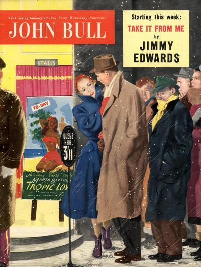 Front Cover of John Bull, January 1953--Giclee Print