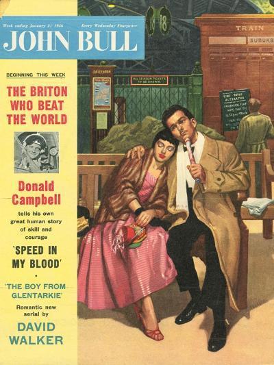 Front Cover of 'John Bull', January 1956--Giclee Print