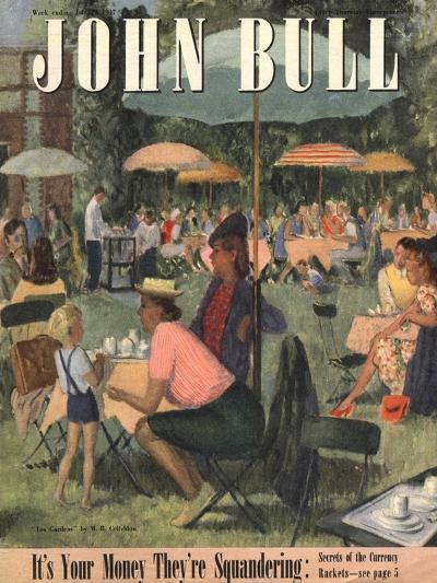 Front Cover of 'John Bull', July 1948--Giclee Print