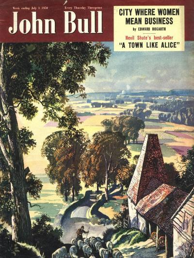 Front Cover of 'John Bull', July 1950--Giclee Print