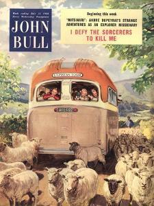 Front Cover of 'John Bull', July 1954