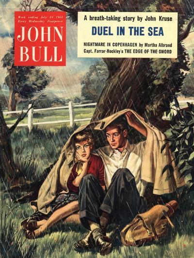 Front Cover of 'John Bull', July 1954--Giclee Print