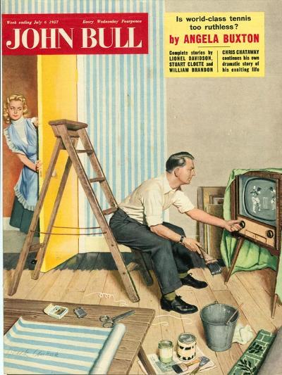 Front Cover of 'John Bull', July 1957--Giclee Print
