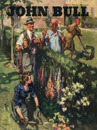 Front Cover of 'John Bull', June 1946--Giclee Print