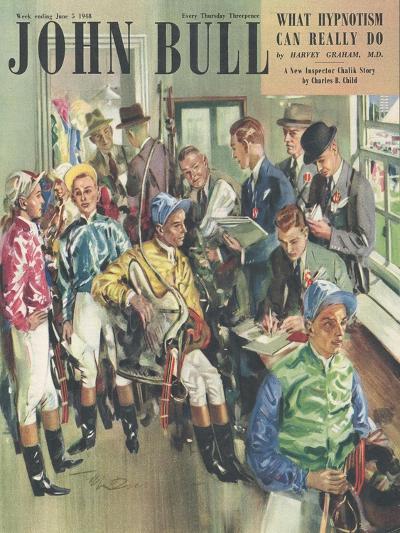 Front Cover of 'John Bull', June 1948--Giclee Print