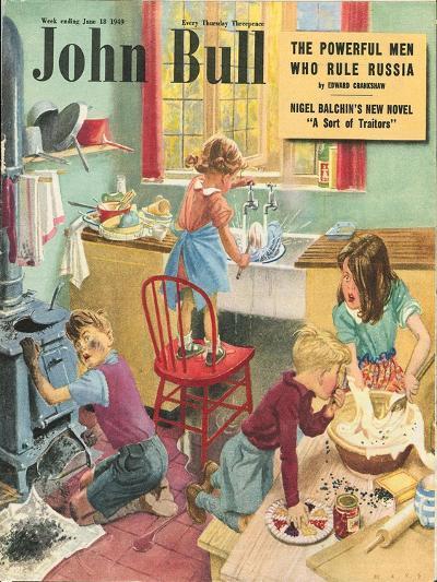 Front Cover of 'John Bull', June 1949--Giclee Print
