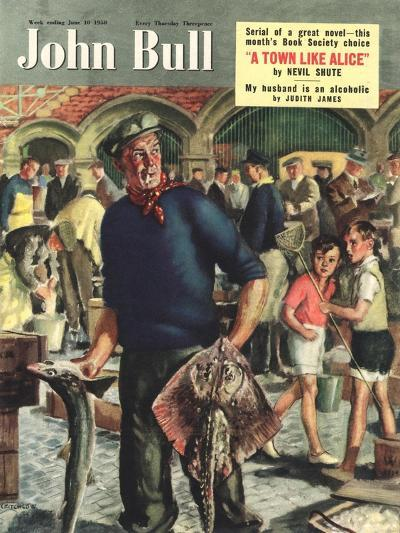 Front Cover of 'John Bull', June 1950--Giclee Print