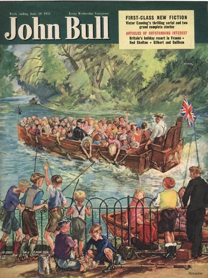 Front Cover of 'John Bull', June 1951--Giclee Print