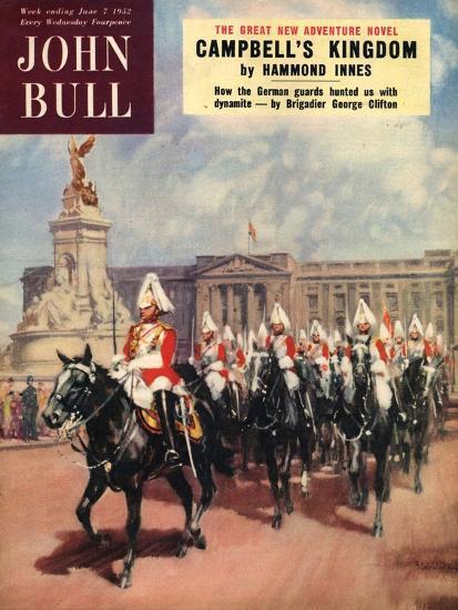 Front Cover of 'John Bull', June 1952--Giclee Print