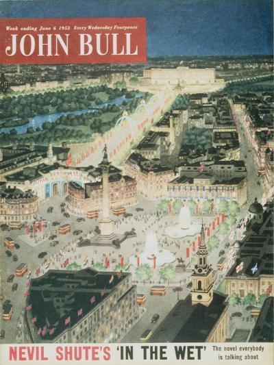 Front Cover of 'John Bull', June 1953--Giclee Print