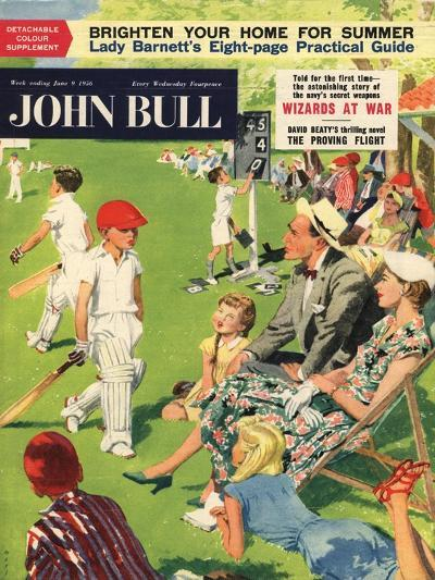 Front Cover of 'John Bull', June 1956--Giclee Print