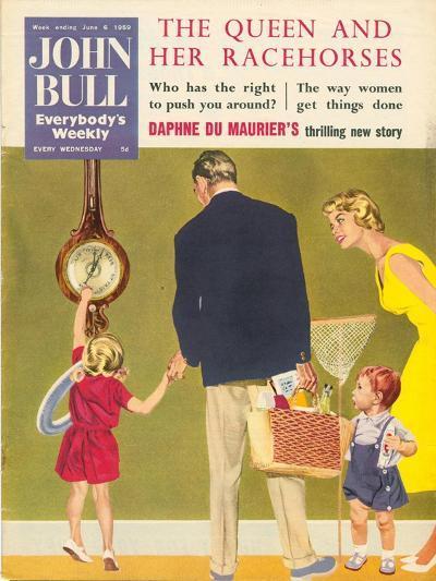 Front Cover of 'John Bull', June 1959--Giclee Print