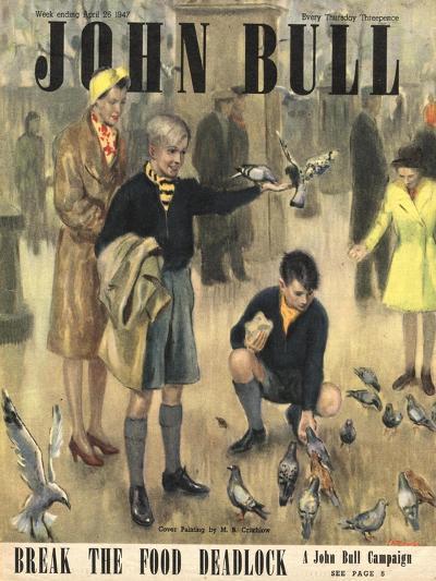 Front Cover of 'John Bull' Magazine, April 1947--Giclee Print