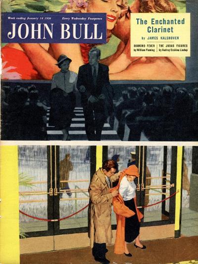 Front Cover of 'John Bull' Magazine, January 1956--Giclee Print