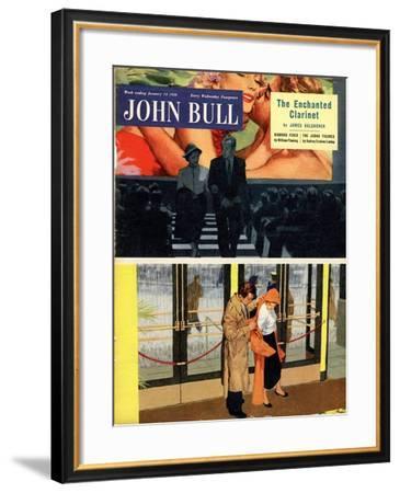 Front Cover of 'John Bull' Magazine, January 1956--Framed Giclee Print