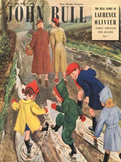 Front Cover of 'John Bull' Magazine, March 1949--Giclee Print