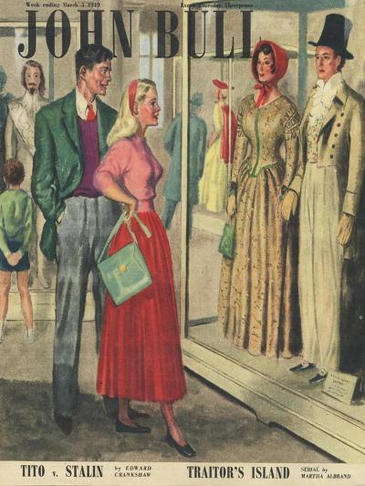 Front Cover of 'John Bull', March 1949--Giclee Print