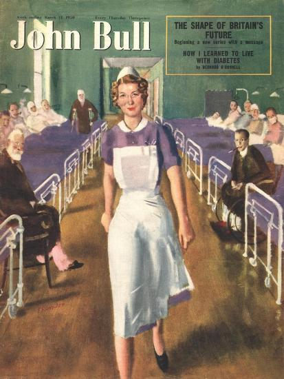 Front Cover of 'John Bull', March 1950--Giclee Print