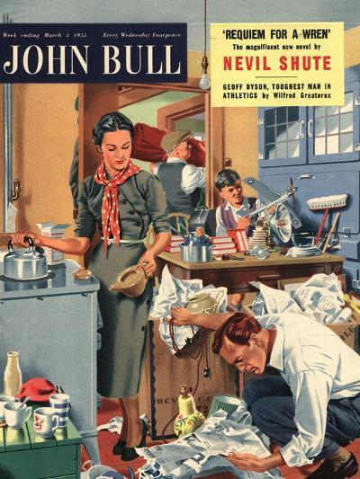 Front Cover of 'John Bull', March 1955--Giclee Print