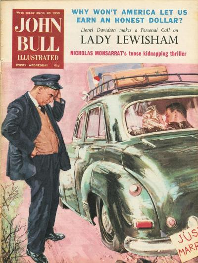 Front Cover of 'John Bull', March 1959--Giclee Print