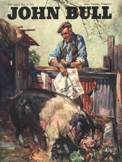 Front Cover of 'John Bull' May 1946--Giclee Print