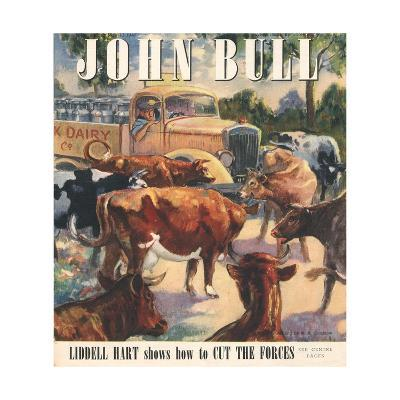 Front Cover of 'John Bull', May 1947--Giclee Print
