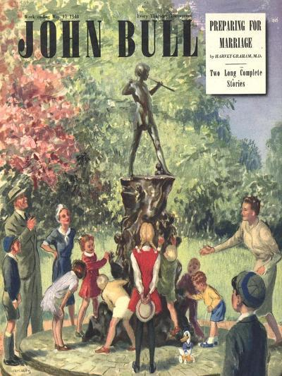 Front Cover of 'John Bull', May 1948--Giclee Print