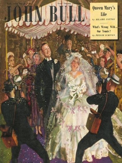 Front Cover of 'John Bull', May 1949--Giclee Print
