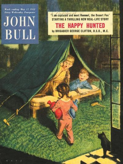 Front Cover of 'John Bull', May 1952--Giclee Print