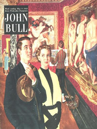 Front Cover of 'John Bull', May 1953--Giclee Print