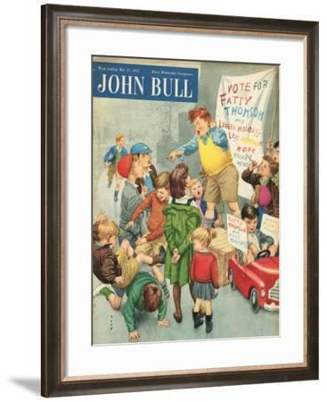 Front Cover of 'John Bull', May 1955--Framed Giclee Print