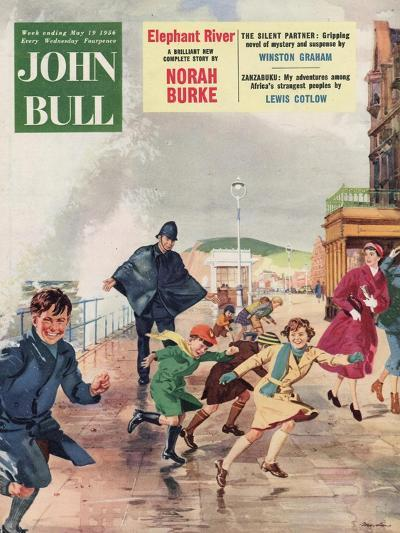 Front Cover of 'John Bull', May 1956--Giclee Print