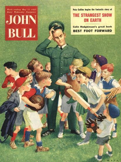 Front Cover of 'John Bull', May 1957--Giclee Print