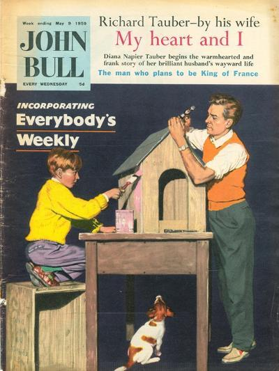 Front Cover of 'John Bull', May 1959--Giclee Print