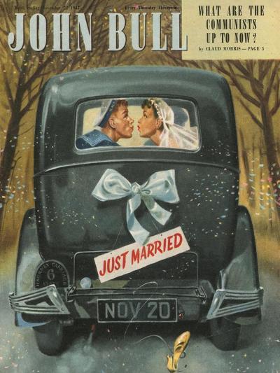 Front Cover of 'John Bull', November 1947--Giclee Print
