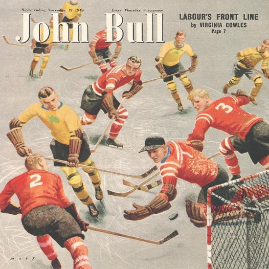 Front Cover of 'John Bull', November 1949--Giclee Print