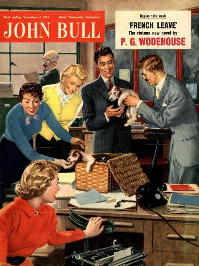 Front Cover of 'John Bull', November 1951--Giclee Print