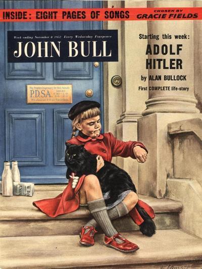 Front Cover of 'John Bull', November 1952--Giclee Print