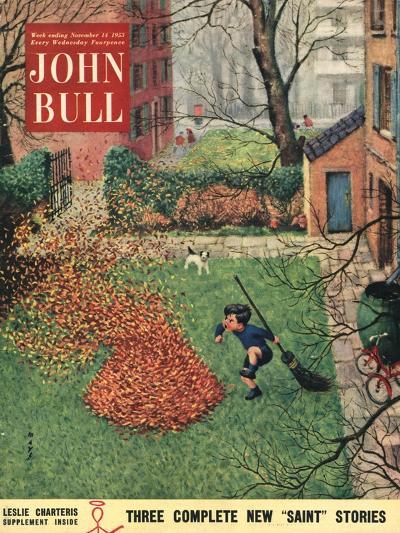 Front Cover of 'John Bull', November 1953--Giclee Print