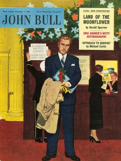 Front Cover of 'John Bull', November 1955--Giclee Print