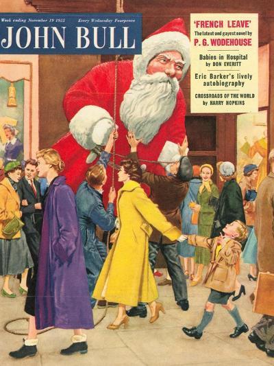 Front Cover of 'John Bull', November 1955--Giclee Print