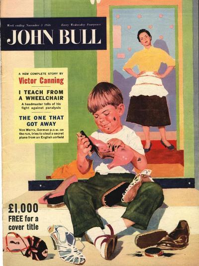 Front Cover of 'John Bull', November 1956--Giclee Print